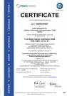 FSSC 22000 Certificate (англ.)