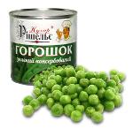 Зелений консервований горошок