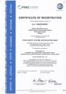 Сертифікат FSSC 22000 (англ.)